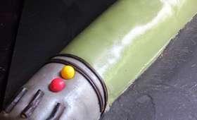 Gâteau d'anniversaire, le sabre de Star Wars