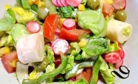 """Salade composée pour """"la tribu"""""""