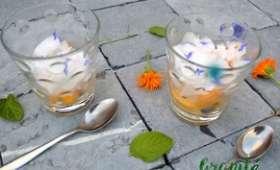 Granité menthe citronné, pêches, soucis et bleuet - Poivré Seb