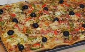 Pizza maison - Légumes de saison