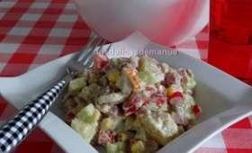 Salade de pommes de terre gourmande et légère