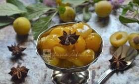 Compotée de mirabelles au miel et aux épices