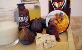 Fromage bleu maison ou figues et miel