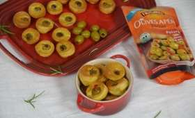 Bouchées apéritives aux Olives Apéro farcies au poivron
