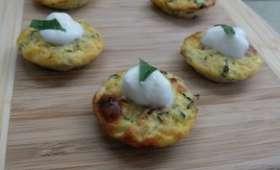 Mini bouchées de courgettes au basilic – La cuisine du mercredi