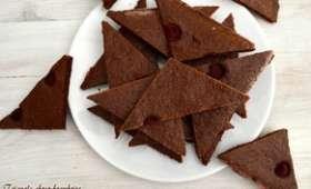 Triangle choco-framboise - Poivré Seb