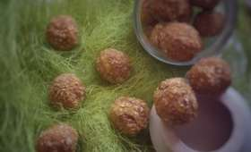 Energy Balls aux fibres de fruits
