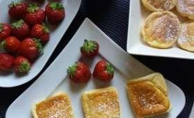 Gâteaux soufflés avec ou sans Companion