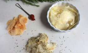 Chips maison nature paprika et herbes de Provence