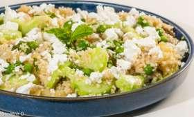 Salade de semoule et légumes d'été