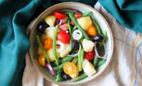 Salade de haricots estivale