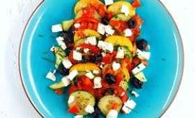 Salade de croutons à la crétoise