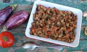 Bohémienne d'aubergines