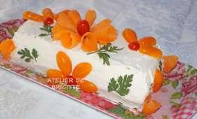 Sandwich Cake au saumon fumé et petites crevettes