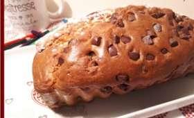 Cake au fromage blanc et pépites de chocolat