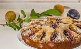 Gâteau aux prunes et aux amandes
