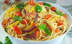 Spaghettis à la Napolitaine