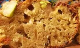 Cake courgette, pesto, cheddar
