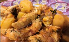 Poulet pommes de terre à l'épice espagnol