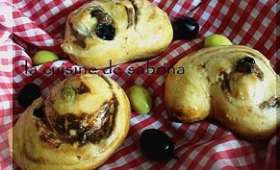 Petit pain olive-fromage