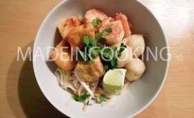 Soupe Laksa singapourienne