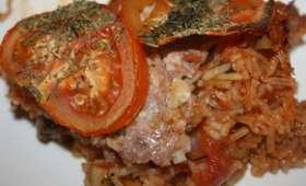 Plat au four façon tomates farcies
