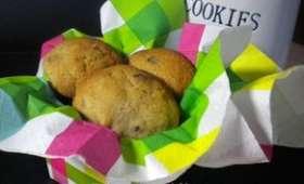 Cookies aux cacahuètes, au chocolat et à la cannelle
