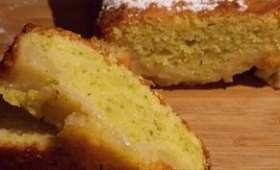 Cake poires pistaches