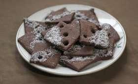 Sablés chocolat-coco