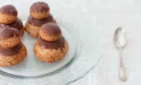 Religieuse chocolat et fève tonka