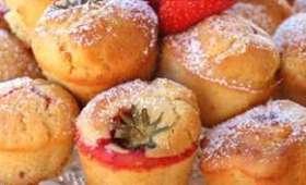 Muffins citron-fraise
