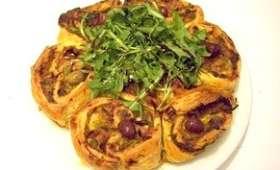 Tarte bouclette à la provençale