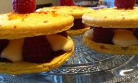 Les Macarons au Citron Framboises