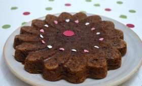 Gâteau moelleux au chocolat Valrhona