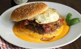 Welsh burger