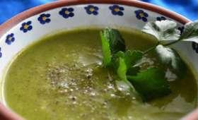 Jolie soupe aux brocolis