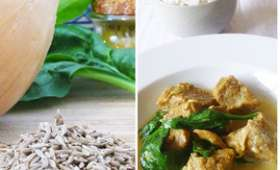 Blanquette de veau au curry et au cumin