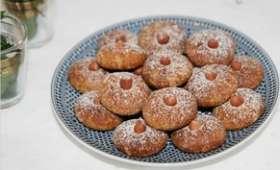 Ghriba aux cacahuètes et écorces d'orange confites