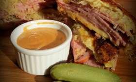 Sandwich Reuben ou Ruben