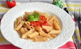 Penne sauce tomate mozzarella