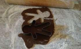 Gingerbread men, biscuits de Noël aux épices