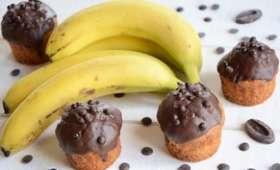 Cupcakes banane chocolat