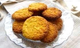 Cookies à la polenta et clémentine