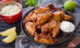 Chicken wings ou ailes de poulet sauce BBQ maison
