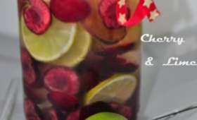 Detox Water Cerises Citrons verts