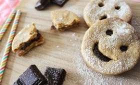Biscuits fourrés façon BN®