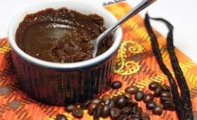 Pudding vanille café