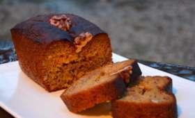 Cake au miel et noix