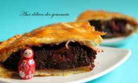 galette chocolat griottes