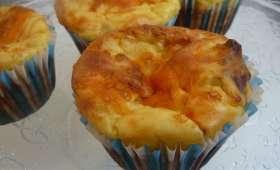 Muffins pomme de terre fromage et bacon